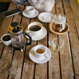 ว่ากาแฟดีแล้วชา earl grey ที่นี่ก็ดีมาก