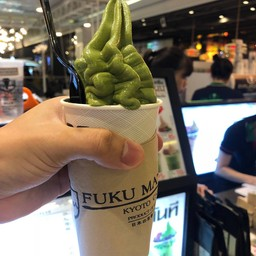 เมนูของร้าน Fuku Matcha สยามเซ็นเตอร์
