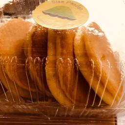 เมนูของร้าน ขนมครกใบเตย สยามสแควร์ซอย 9