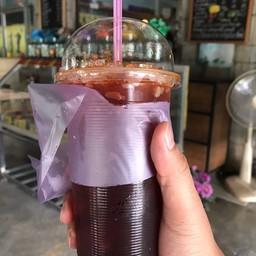 กาแฟขนมเปี๊ยะดาบมี
