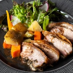 Roasted Pork belly with Potatoes