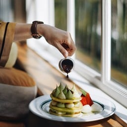 gram pancakes Samsen Samsen