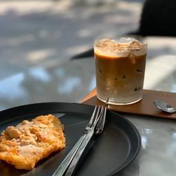 white coffee(iced)