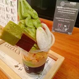 เมนูของร้าน Kyoto Inari Tea&Dessert Cafe เซ็นทรัลปิ่นเกล้า