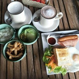 เมนูของร้าน Mai Bakery in garden ช้างเผือก