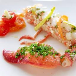 Lobster Salad, Vegetable Macedoine##1