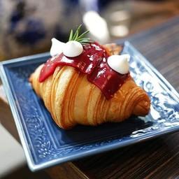 Raspberry Cream Croissant