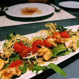 huahin slipper lobster salad (กั้งกระดาน)