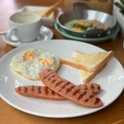 ชุดอาหารเช้า  Breakfast set