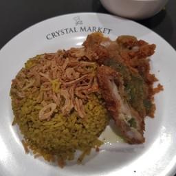 ข้าวหมกไก่คุณชาย  Crystal Park เลียบด่วน