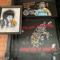 บรรยากาศ Rock Me Burgers & Bar