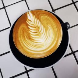 Latte art สวยงาม
