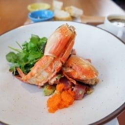 Grilled Prawn With Spicy Tuna