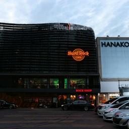 หน้าร้าน Hard Rock Café กรุงเทพ