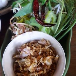 เมนูของร้าน ขนมจีนต้นก้ามปู