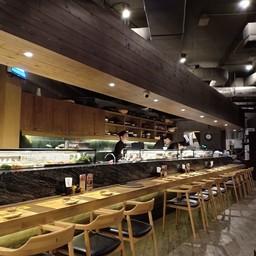 บรรยากาศ Kabocha Sushi the street รัชดา