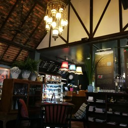 บรรยากาศ Cafe De Oasis