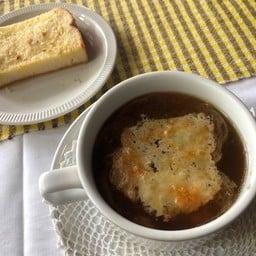 ซุปหัวหอมแบบฝรั่งเศส