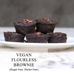 Flourless Dark Chocolate Brownie