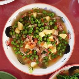 เมนูของร้าน ร้านอาหารชุมชนจีนยูนนาน หมู่บ้านสันติชล