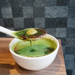 Shiratama Zenzai with Matcha Green Tea