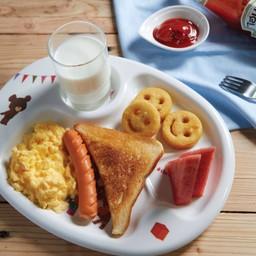อาหารเช้าเด็ก