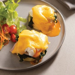 Eggs Benedict (2 Eggs)