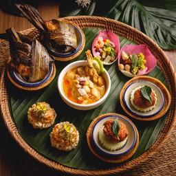 เมนูของร้าน The Local By Oam Thong Thai Cuisine