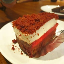 Red velvet Double cheesecake