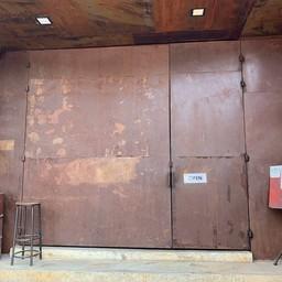 หน้าร้าน Red Diamond Cafe เลียบทางด่วนรามอินทรา