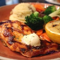 สเต็กปลาแซลมอนนอร์เวย์