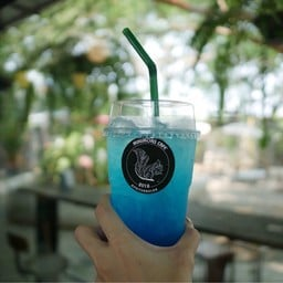 Blue Lemon Italian Soda