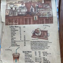 เมนู Bluetamp Cafe