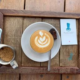 เมนูของร้าน Bluetamp Cafe