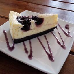 ชีสเค้กเนื้อหนาแน่น กับโอริโอ้บดเข้มข้น