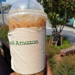 Cafe Amazon ปตท คลองส่งน้ำ สุวรรณภูมิ