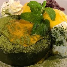 ชีสเค้กชาเขียวมัจฉะไข่เค็มลาวา##1