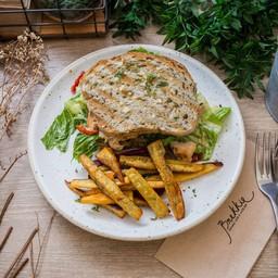 Grilled Chicken Breast Caesar Sandwich