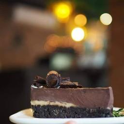 Chocolate Pie with Caramel