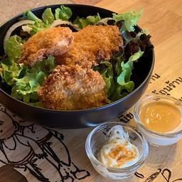 Deep Fried Fish Salad