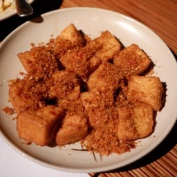 Deep Fried Tofu with Lemongrass and chilly