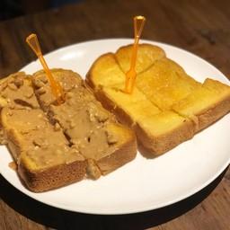 ขนมปังเนยนม เนยถั่ว