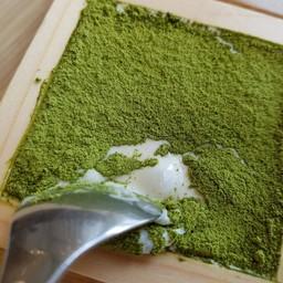Matcha-Tonyu Cream Cheese Parfet