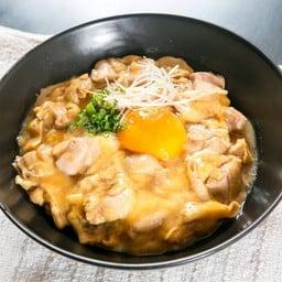 [Oyako-don] ข้าวหน้าไก่ราดไข่ Chicken & Egg on Rice