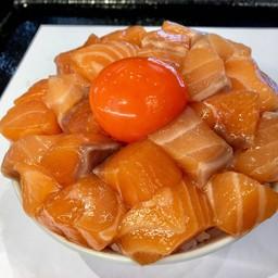 Salmon Dice Don