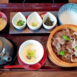 Oumi Gyu (Beef) Gyu Mabushi Set