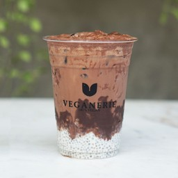 Guilt free dark chocolate drink