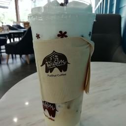 กาแฟพันธ์ุไทย ปั๊ม PT กรุงเทพกรีฑา