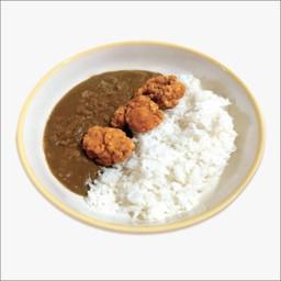 ข้างแกงกะหรี่ไก่คาราอาเกะ