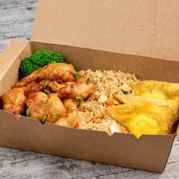 General Tao's Chicken & Cheese Puffs